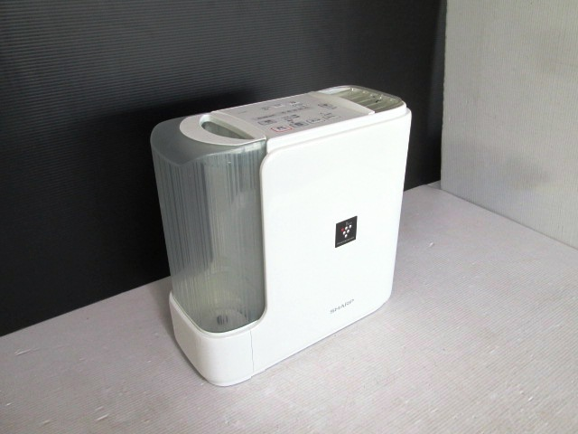 【美品】★SHARP/シャープ★加熱気化式加湿機 HV-D50E2-W ホワイト 2014年製 プラズマクラスター7000搭載