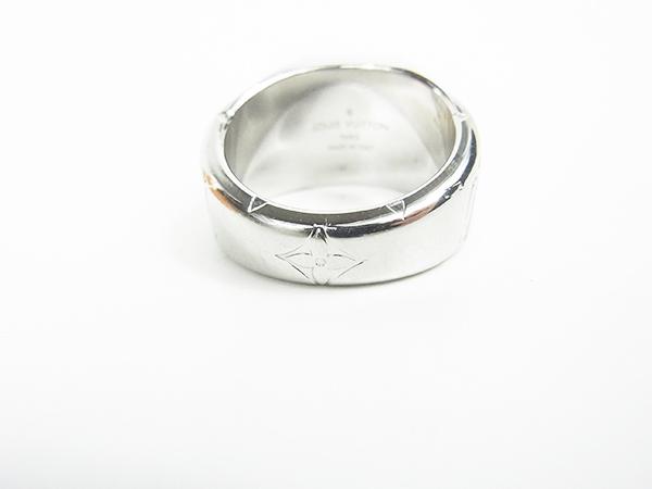 ルイヴィトン LOUIS VUITTON リング 指輪 シグネットリング M62488 DI0199 サイズL 約21号 中古美品 ♪_画像5