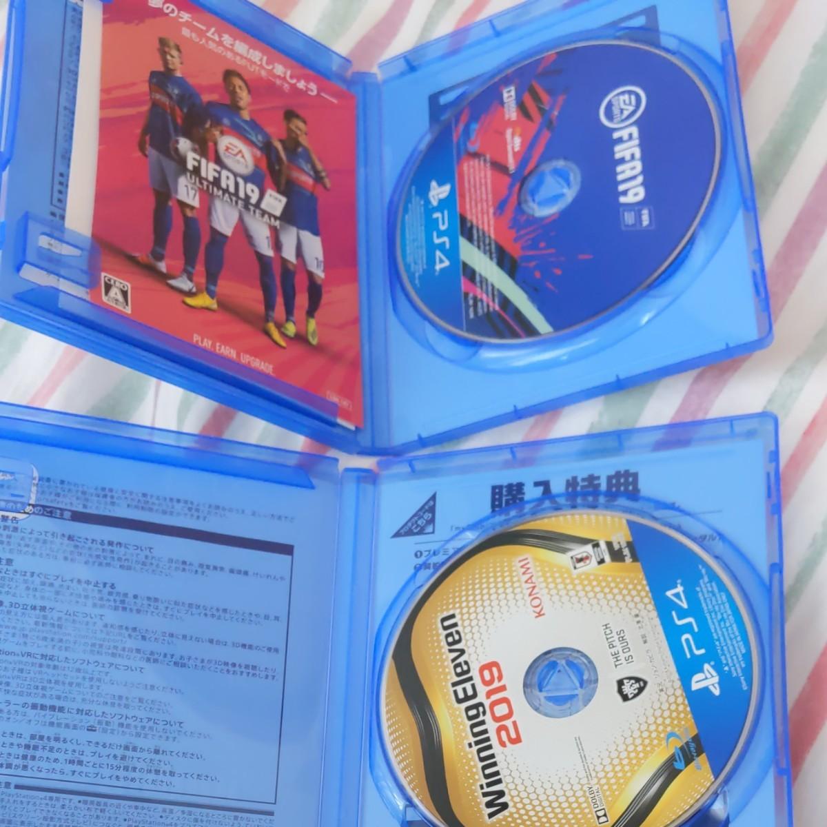 FIFA19 ウイニングイレブン2019セット PS4