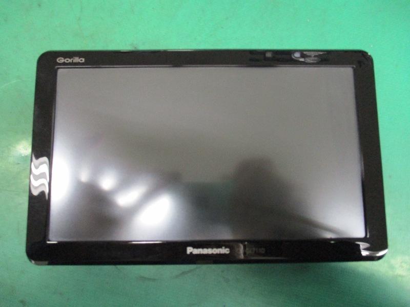 パナソニック ゴリラ 2012年 SSD ポータブルナビ CN-GL711D 7V型 ワンセグ Panasonic 中古品_画像7