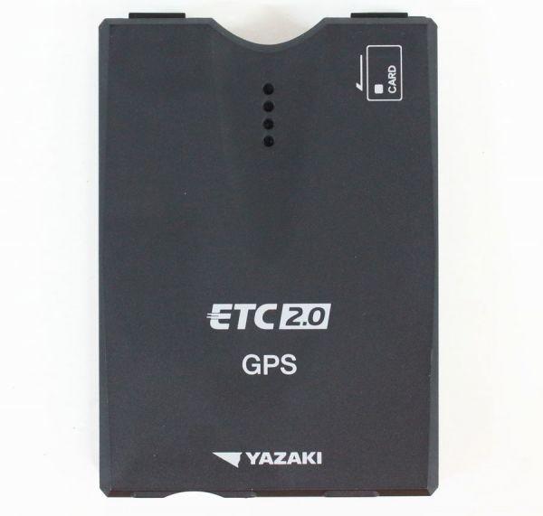 ★◇ 矢崎 GPS付き発話型ETC2.0車載器 四輪車専用 ETC-YD201 ◇⑫MHD9017_画像2