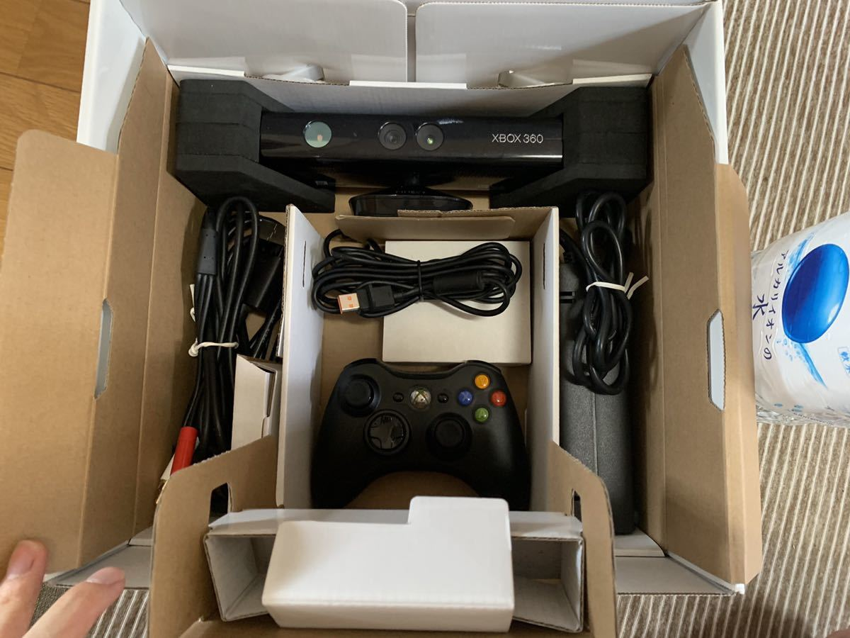 XBOX360本体 Kinect ソフト2本