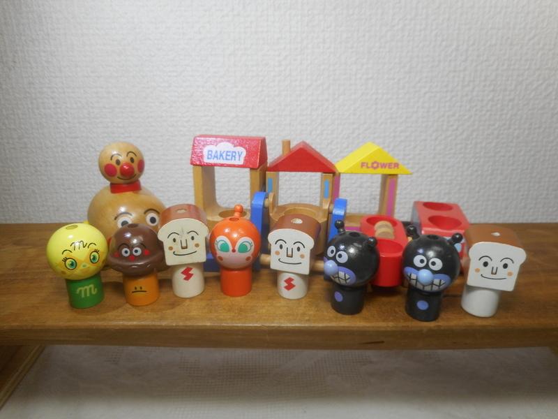 アンパンマン 木製 玩具 まとめて 森のアンパンマン_画像7