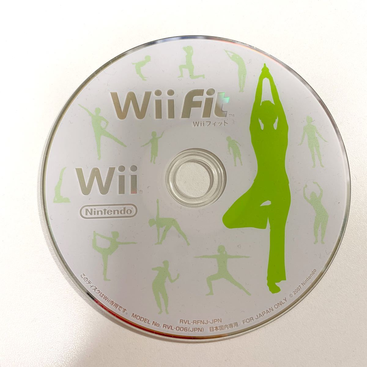 Wii Fit (Wii フィット) /ソフトのみ