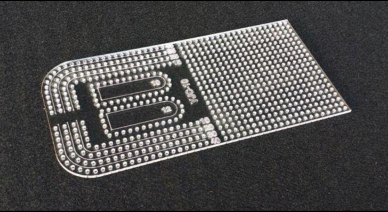 レザークラフト用 4mm定規