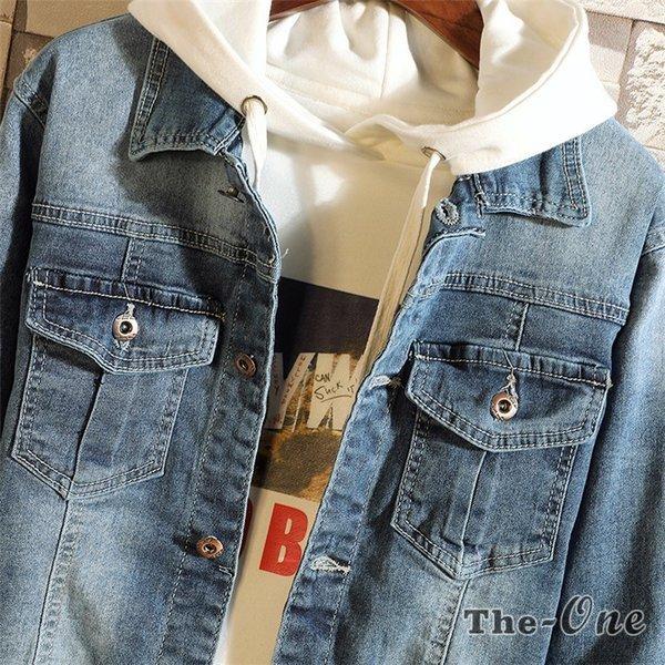 デニムジャケット メンズ ジャケット ジージャン Gジャン ショート丈 デニム アウター メンズファッション カジュアル :tz18082703