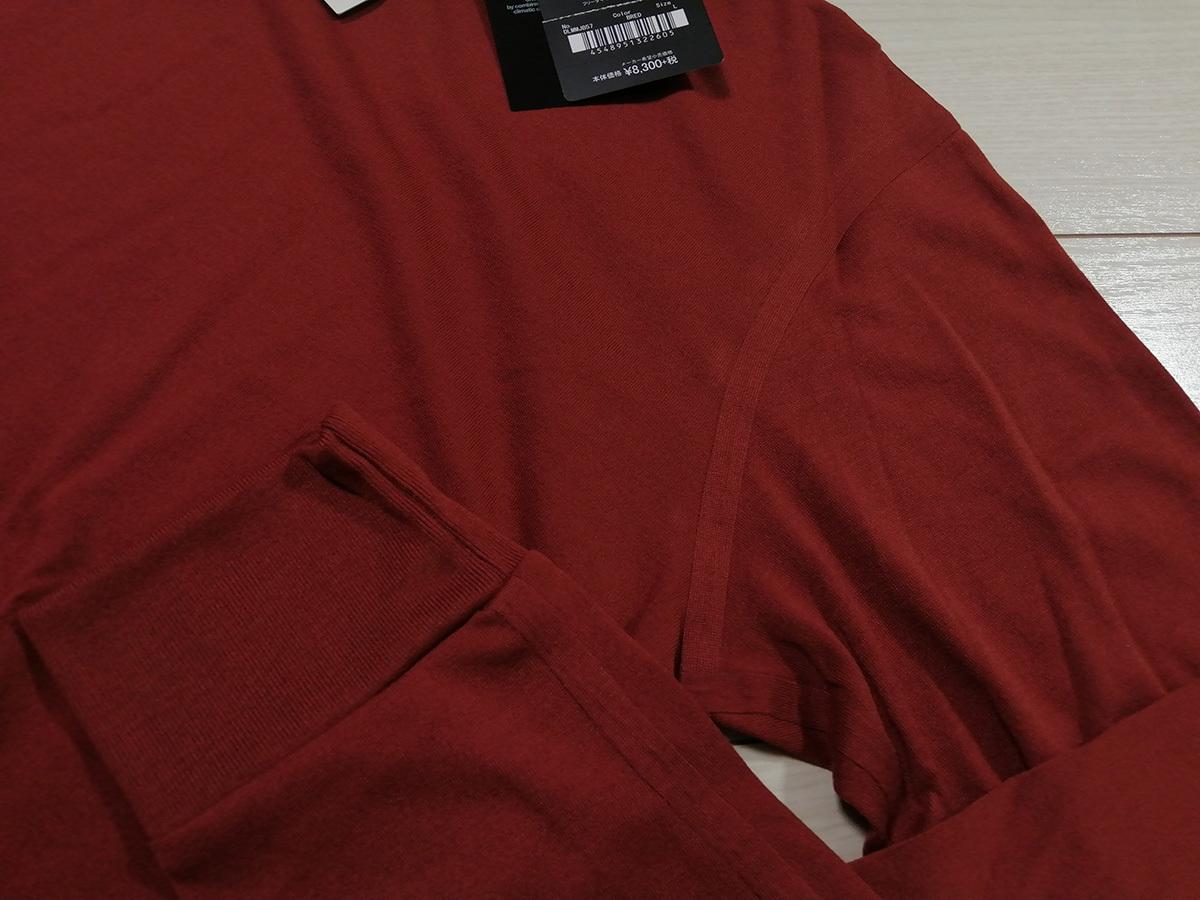 ◆◆新品 デサント ポーズ DESCENTE PAUSE タートルネック 長袖 シャツ カットソー メンズ L 定価8,300円+税 BRED オーラリー 送料無料