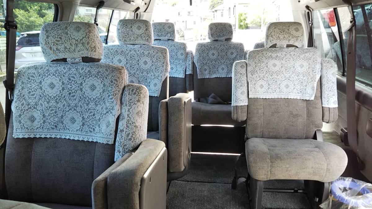 オーテック ジャンボタクシー H15年1月 ガソリン 2WD ケータリングやキャンピングカー、トランポ、災害時の車中泊、車内避難、移動販売等に_画像10