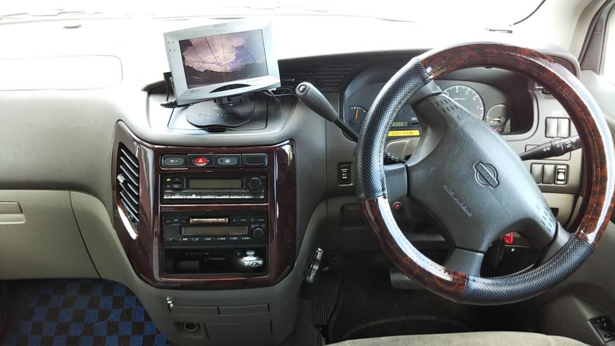 オーテック ジャンボタクシー H15年1月 ガソリン 2WD ケータリングやキャンピングカー、トランポ、災害時の車中泊、車内避難、移動販売等に_画像9