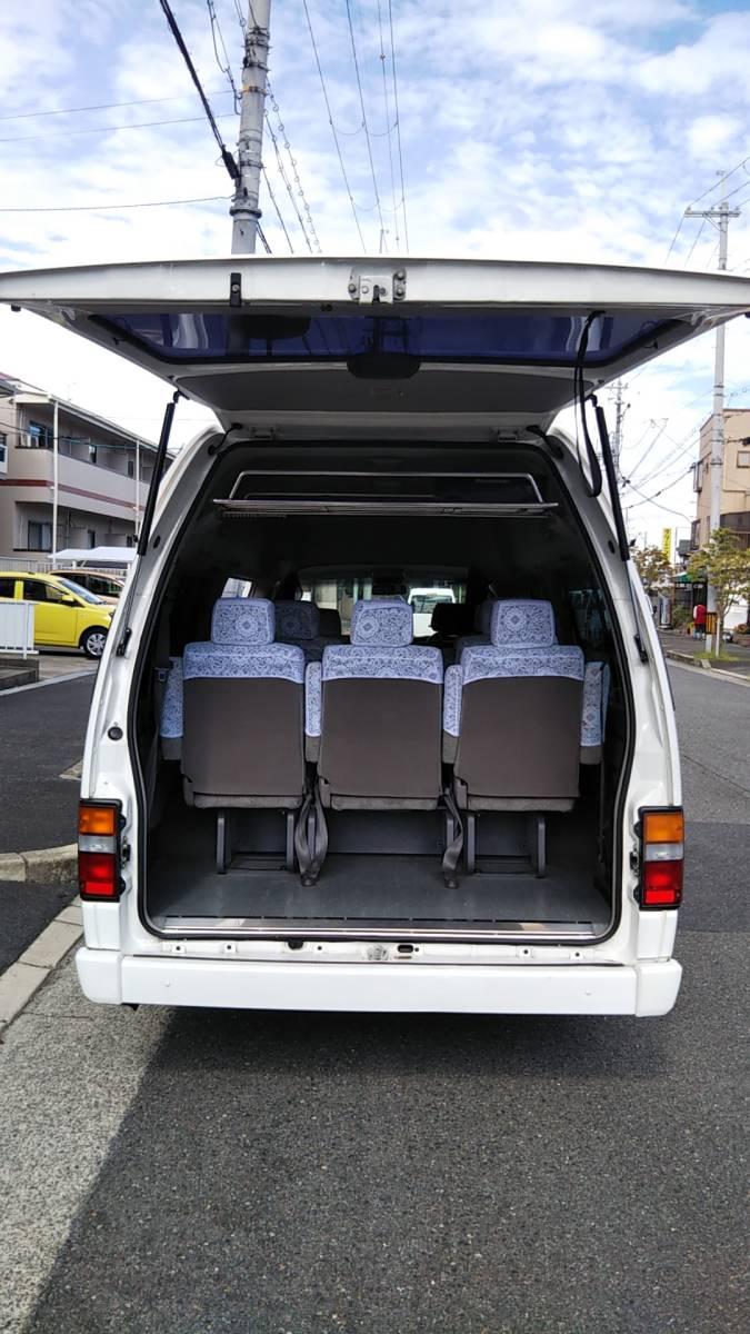 オーテック ジャンボタクシー H15年1月 ガソリン 2WD ケータリングやキャンピングカー、トランポ、災害時の車中泊、車内避難、移動販売等に_画像4