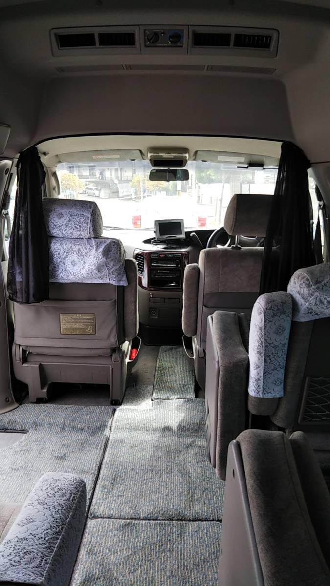 オーテック ジャンボタクシー H15年1月 ガソリン 2WD ケータリングやキャンピングカー、トランポ、災害時の車中泊、車内避難、移動販売等に_画像5