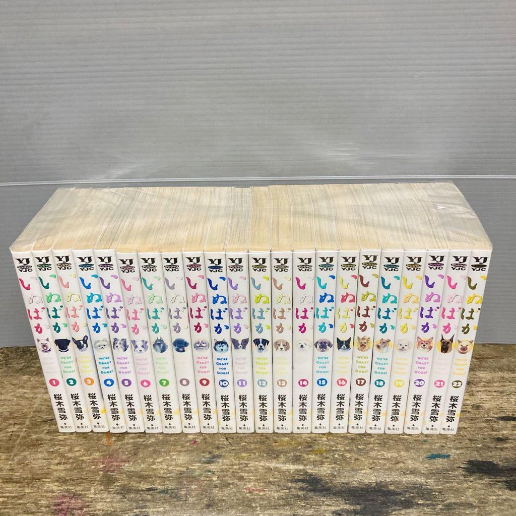 ●全巻セット●送料無料● いぬばか ●1巻~22巻【全巻セット】桜木雪弥◆即決価格★