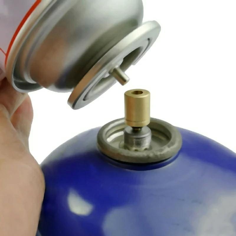 □ガス詰め替えアダプター CB缶からOD缶へ コスト削減に 四個セット□