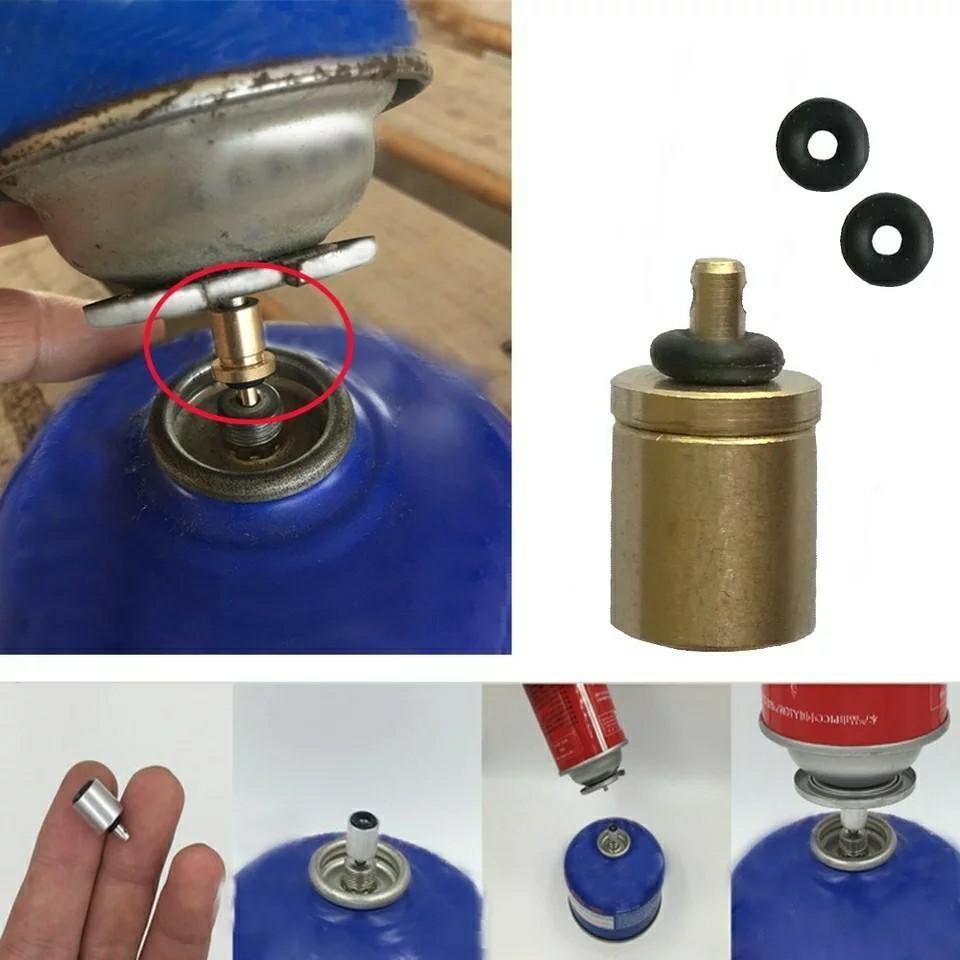 □ガス詰め替えアダプター CB缶からOD缶へ 二個セット□