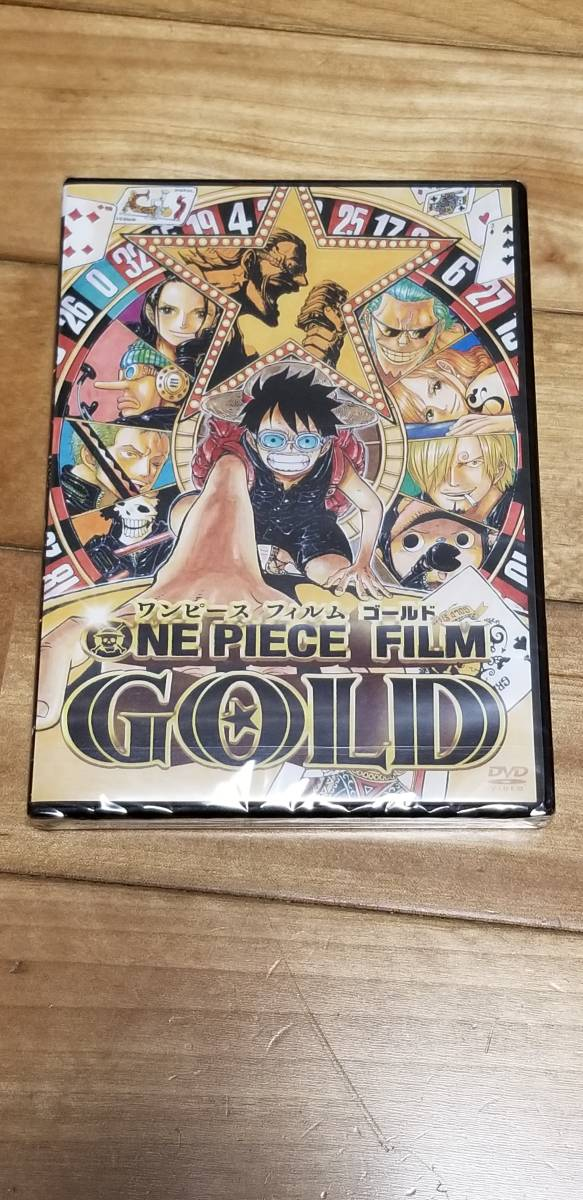 [Newly unopened DVD] ONE PIECE FILM GOLD (OA-014)