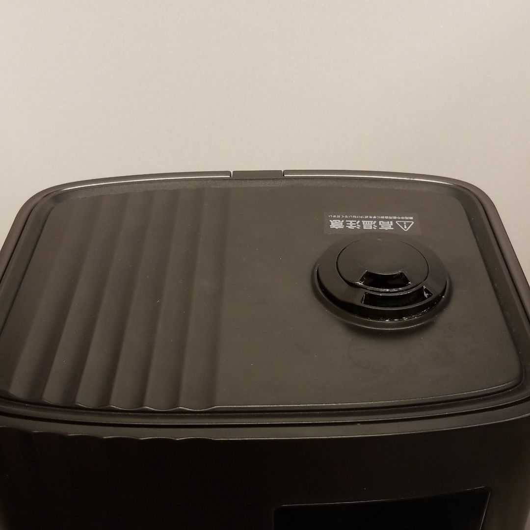ハイブリッド加湿器 超音波 加熱 上部給水 ブラック_画像3
