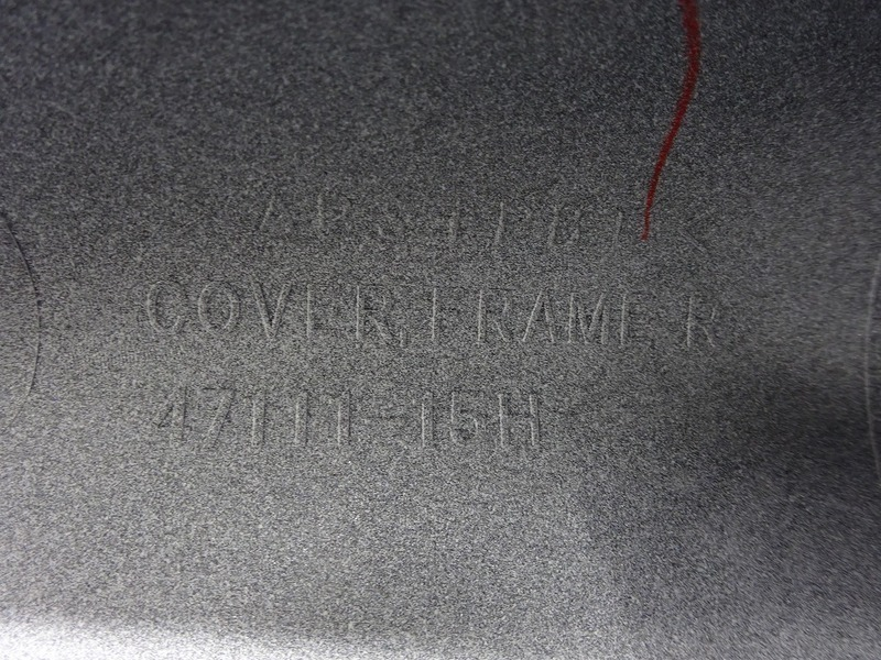 【201015】GSX1300R '13■ 純正リアウインカーカバー右 【GX72B GX72A '08- ハヤブサ 隼 後期_画像9