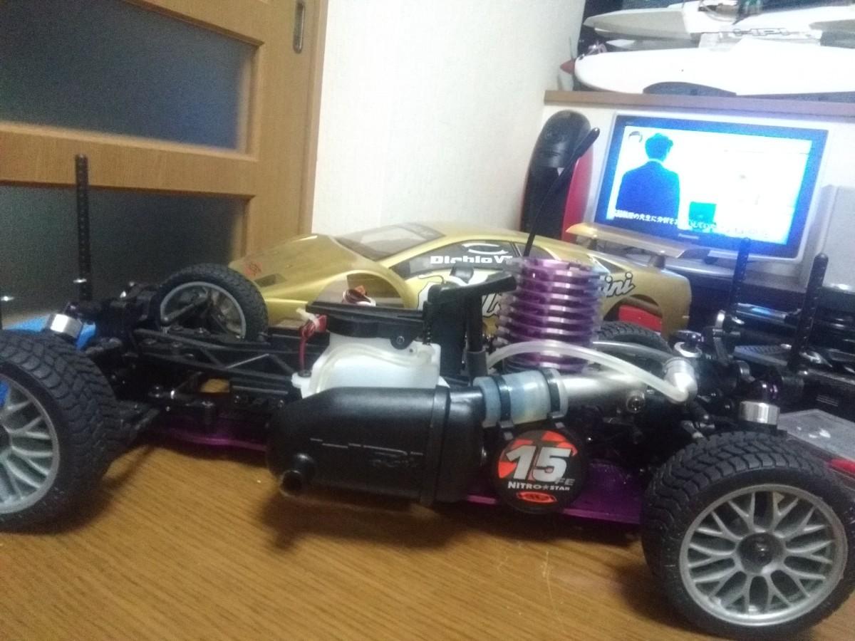 HPi RS4エンジンカー