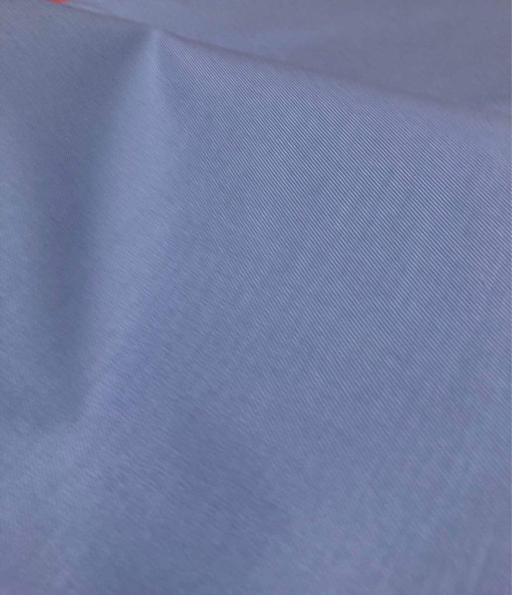 ツイル生地 ブルー系 140×100cm