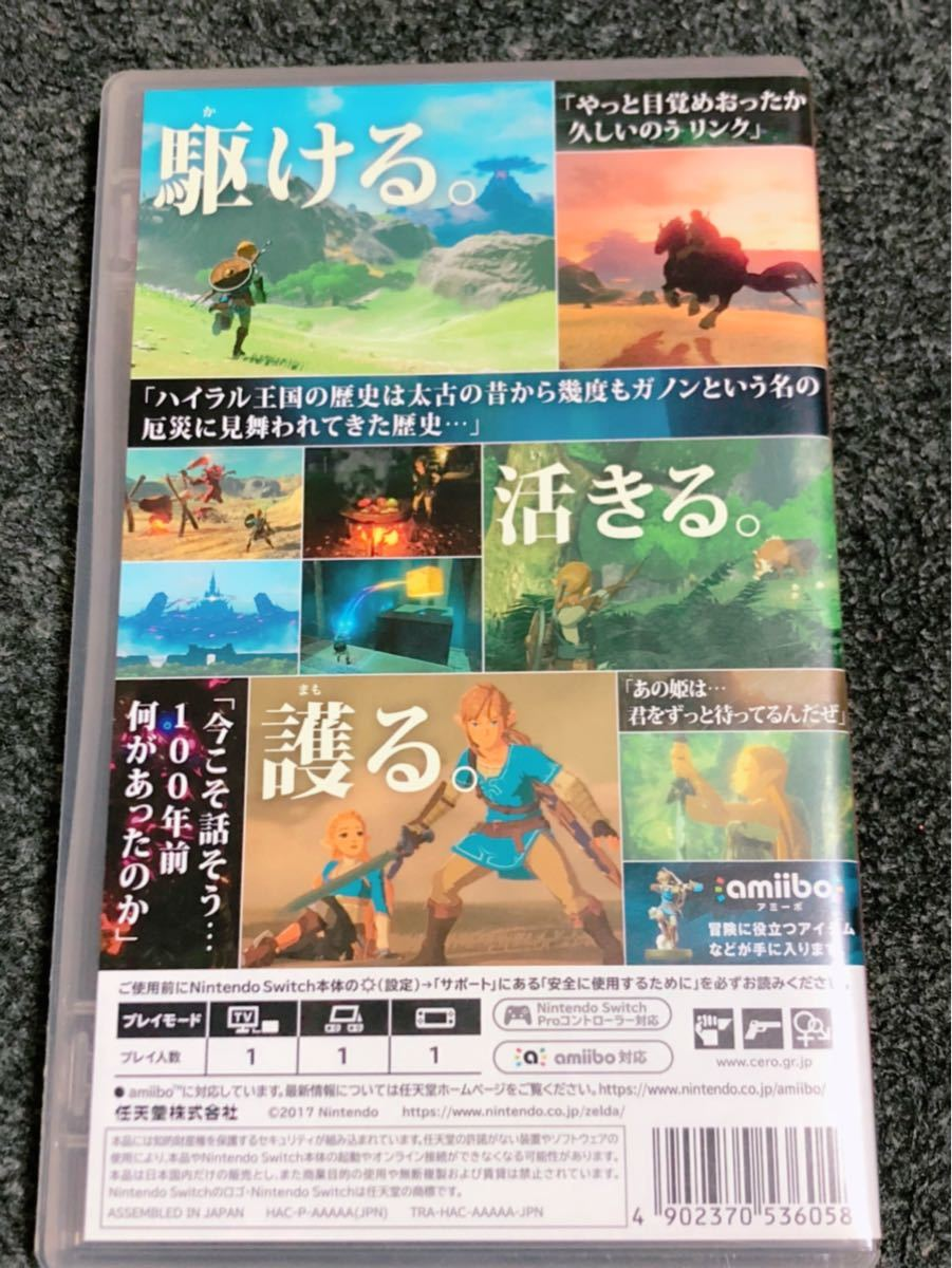 ゼルダの伝説ブレスオブザワイルド Nintendo Switch Switch