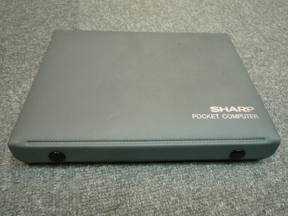 SHARP pocket computer -PC-1261 CE-125S with translation