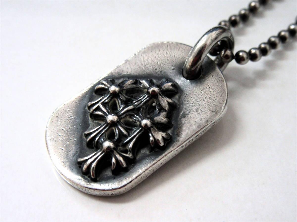 CHROME HEARTS / クロムハーツ レイズドセメタリー ドッグタグ スモール_画像1