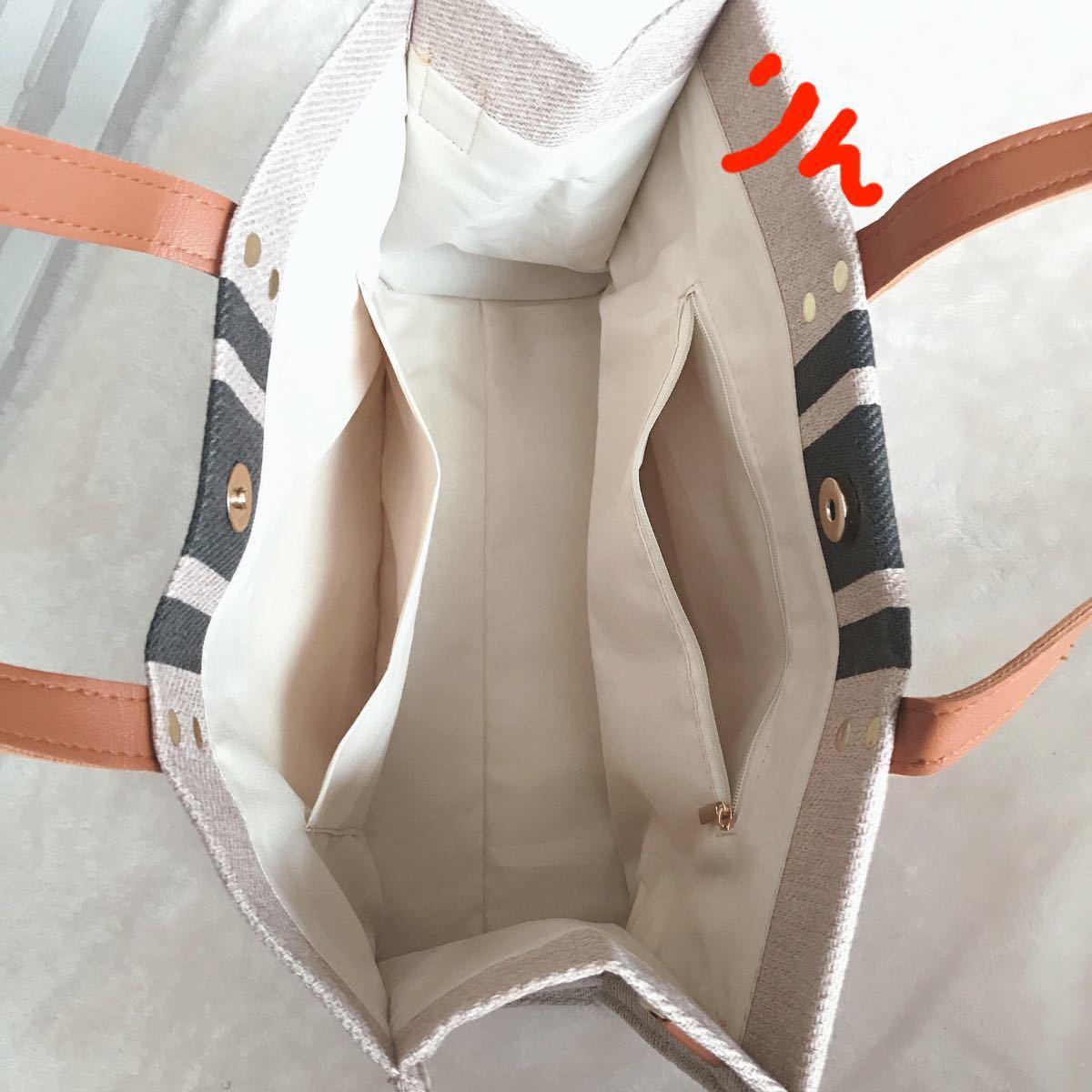 トートバッグ ショルダー キャンパス バック ワンピース エコバック 韓国 鞄