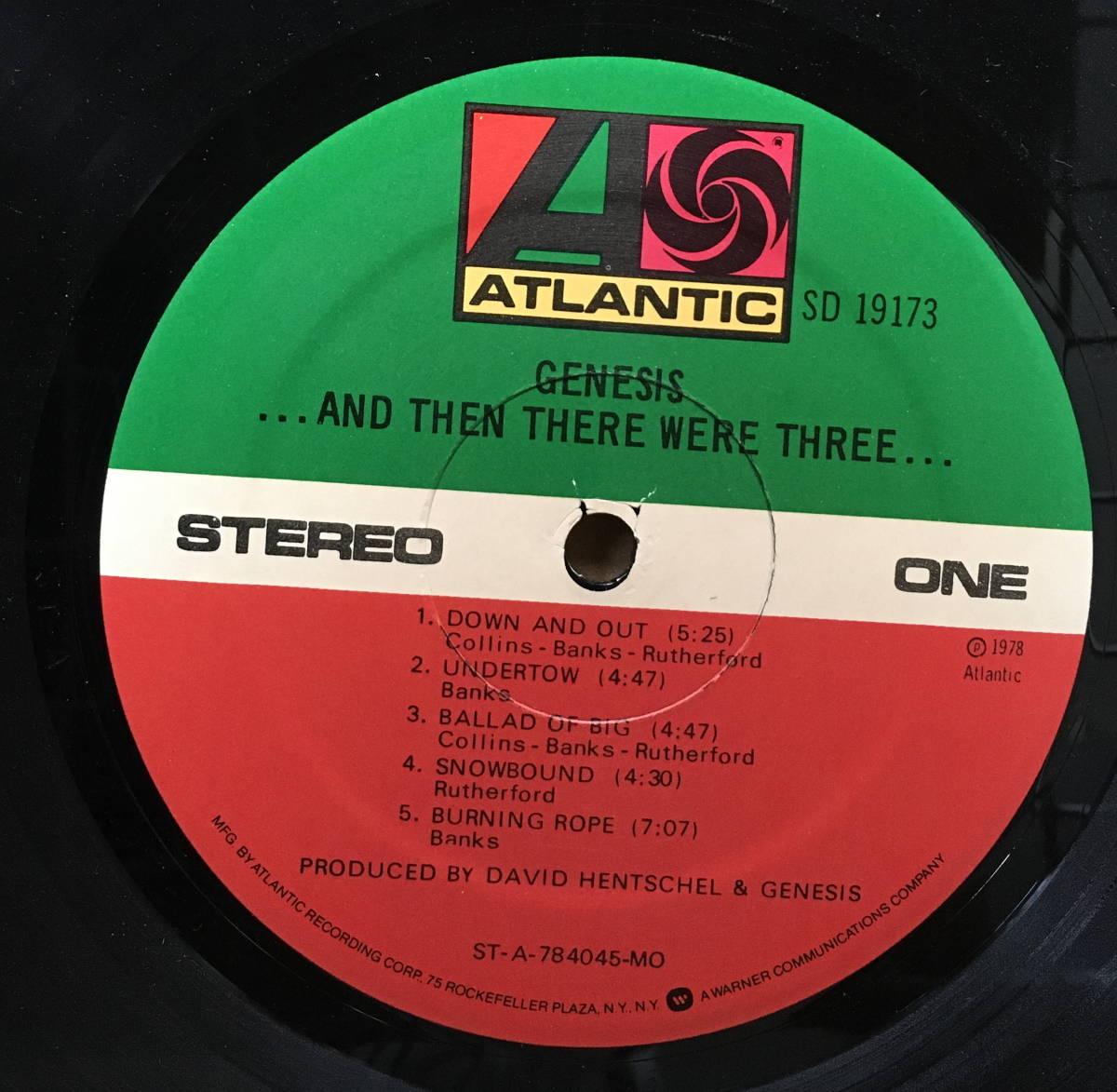 ジェネシス Genesis アルバム3枚「そして3人が残った And Then There Were Three」「デューク Duke」「アバカブ Abacab フィル・コリンズ_画像4