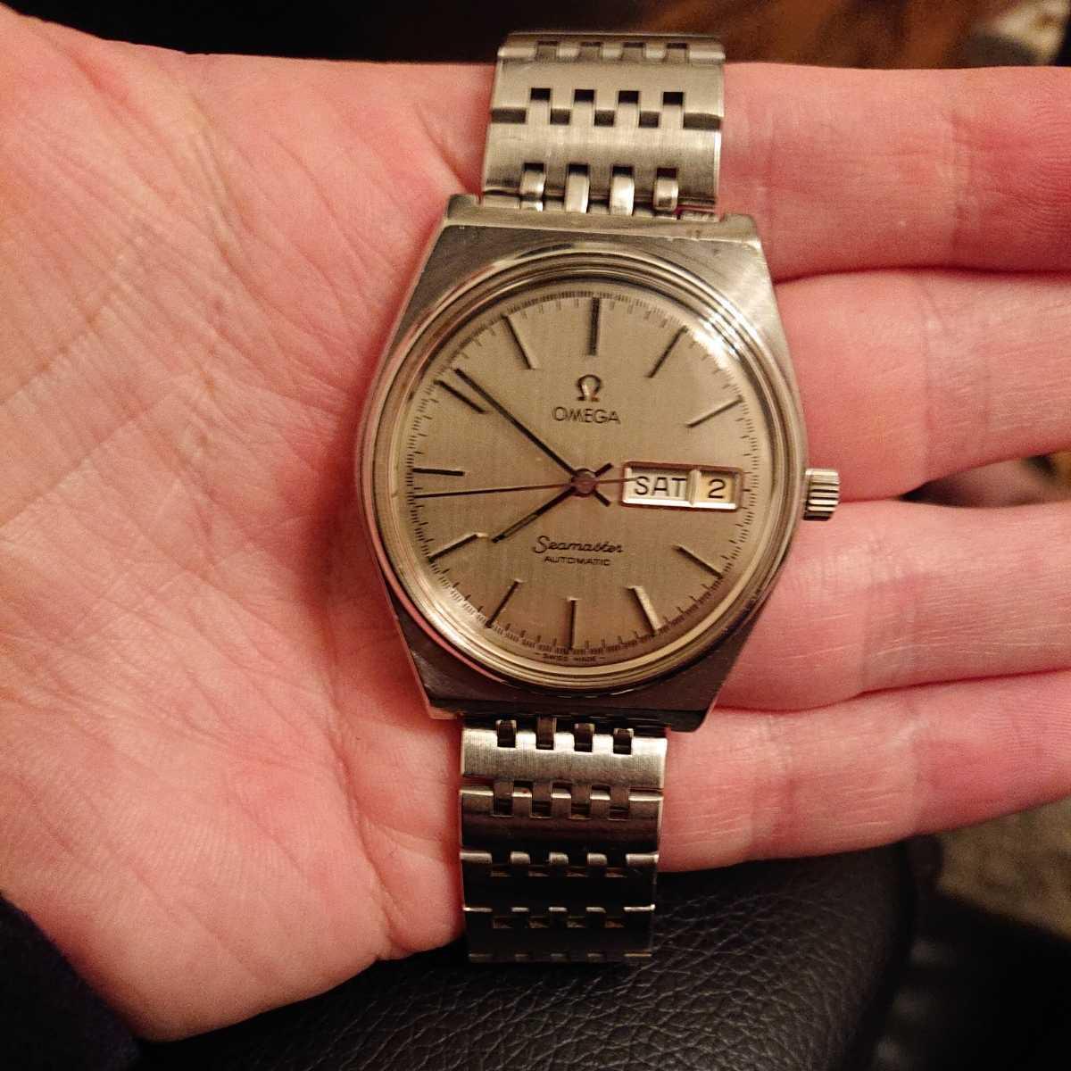 オメガ シーマスター オートマチック デイデイト アンティーク腕時計 メンズ腕時計 OMEGA