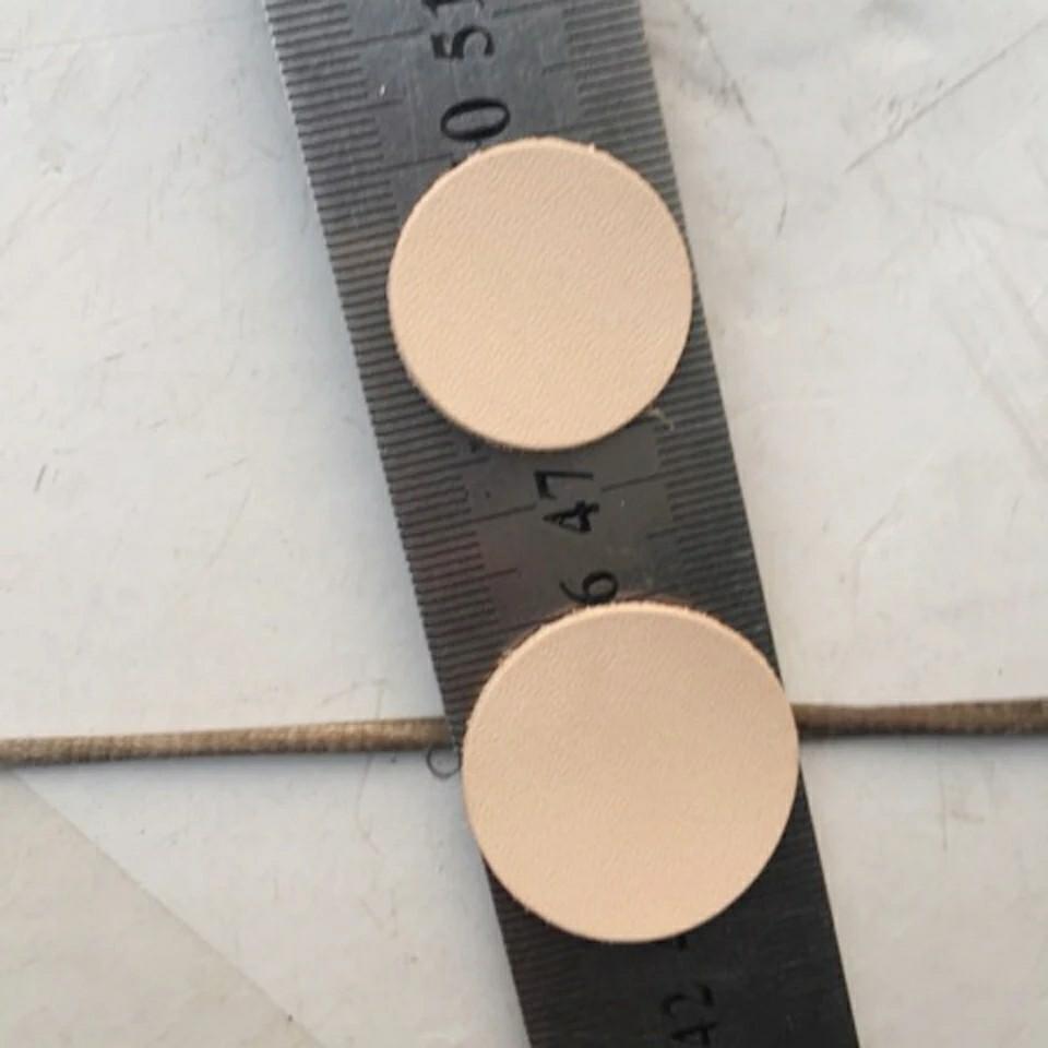 レザークラフト 革工具 丸ポンチ