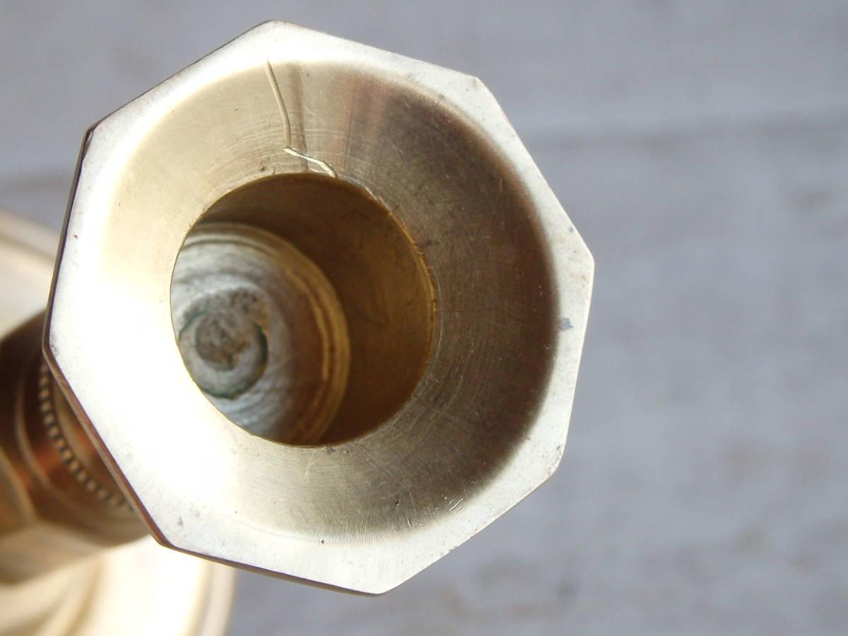 フランスアンティーク キャンドルスタンド ブロンズ 青銅 ゴールド 蚤の市 ビンテージ _画像6