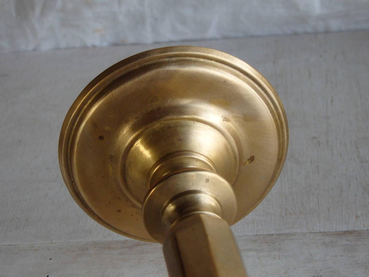 フランスアンティーク キャンドルスタンド ブロンズ 青銅 ゴールド 蚤の市 ビンテージ _画像9