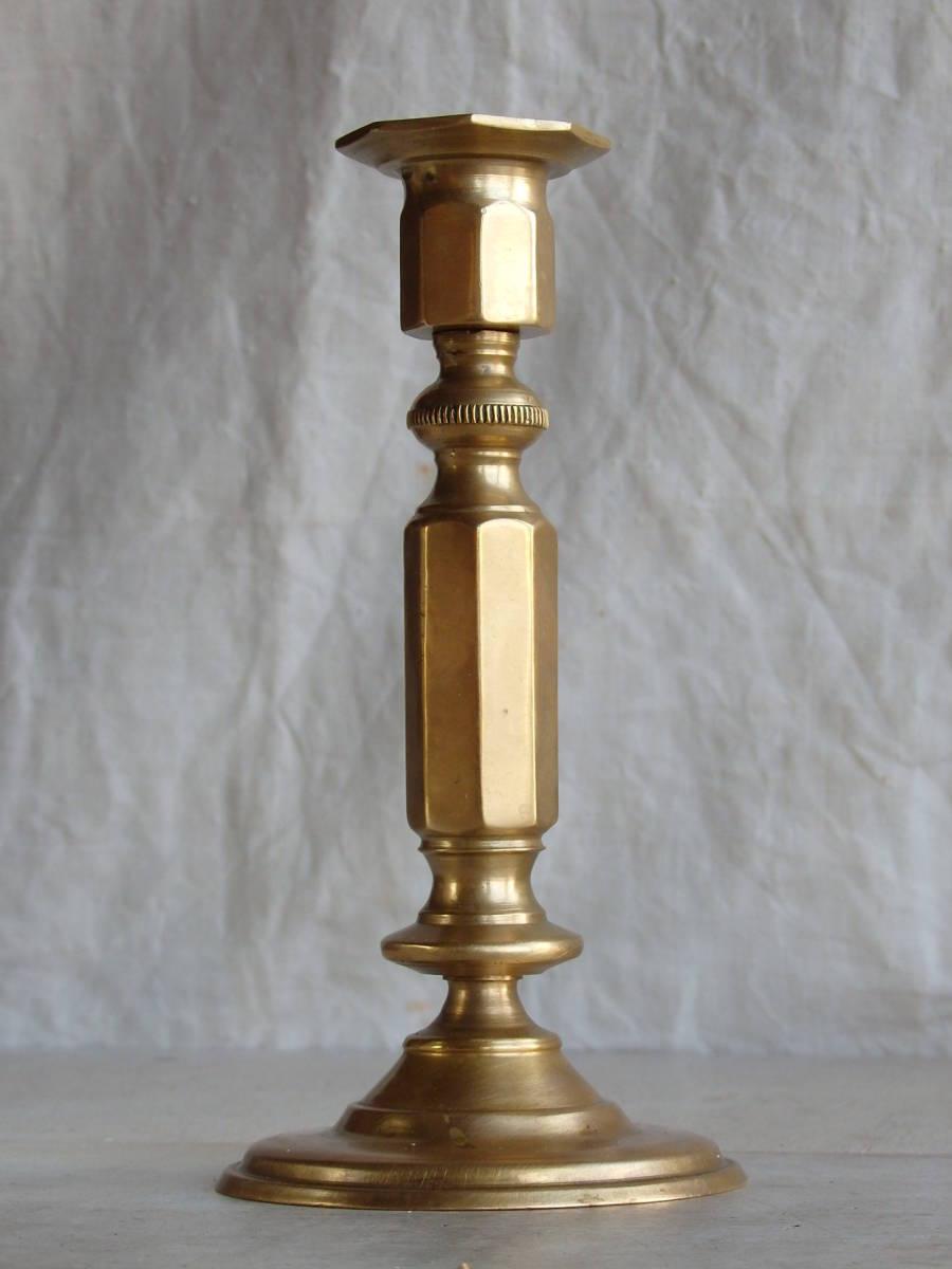フランスアンティーク キャンドルスタンド ブロンズ 青銅 ゴールド 蚤の市 ビンテージ _画像1
