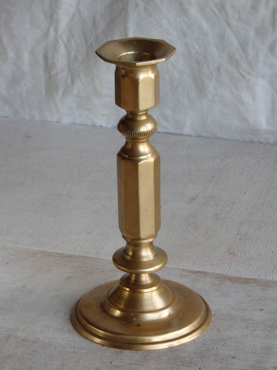 フランスアンティーク キャンドルスタンド ブロンズ 青銅 ゴールド 蚤の市 ビンテージ _画像2