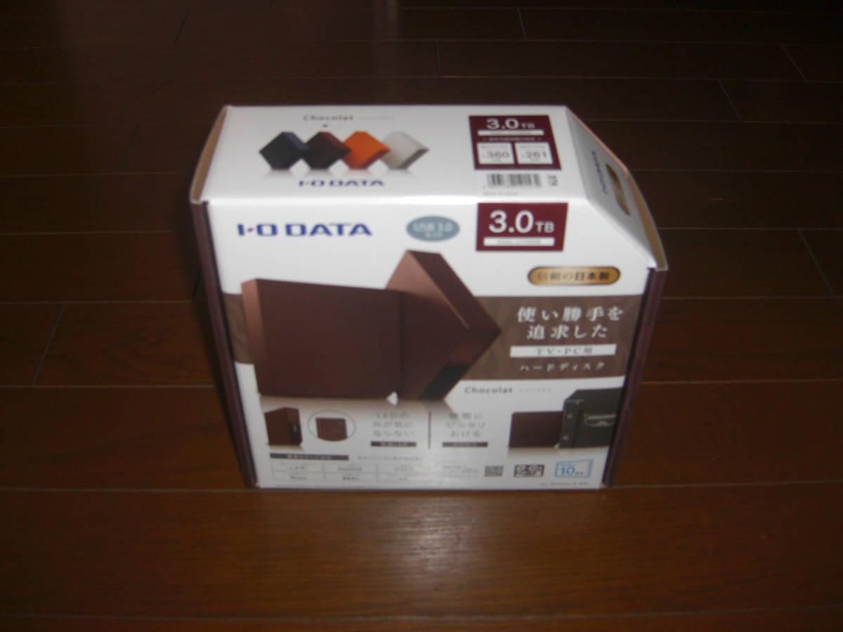 IO DATA USB 3.0/2.0対応 外付ハードディスク 3.0TB HDEL-UT3BRB