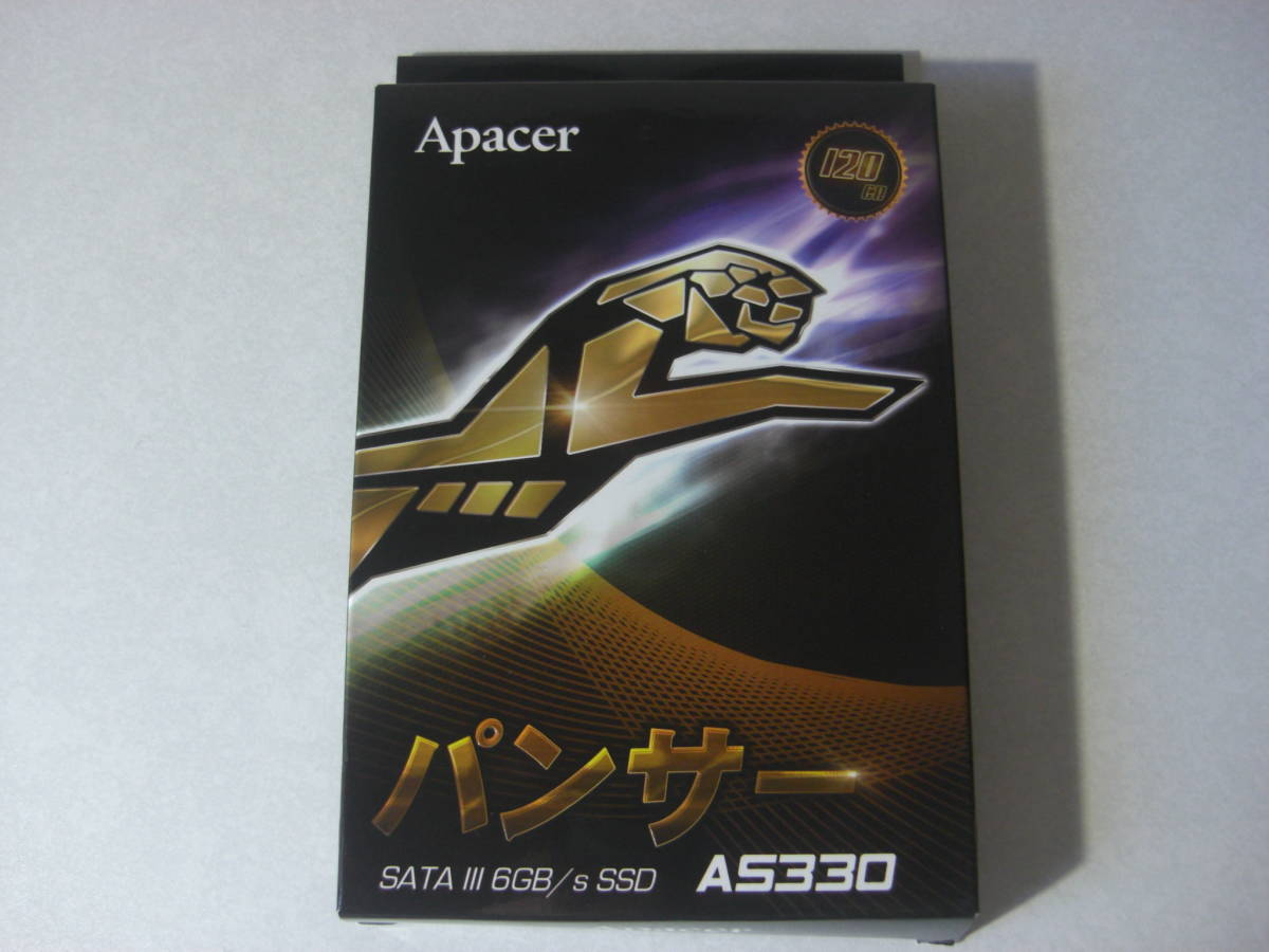 Apacer パンサー SATA lll 6GB/s SSD AS330 (120GB)