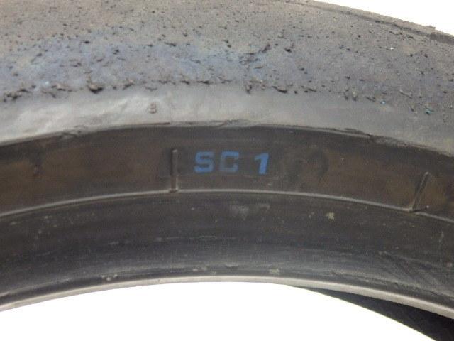 PIRELLI DIABLO SUPERCORSA SC1 150/60 ZR 17 ※ジャンク_画像10