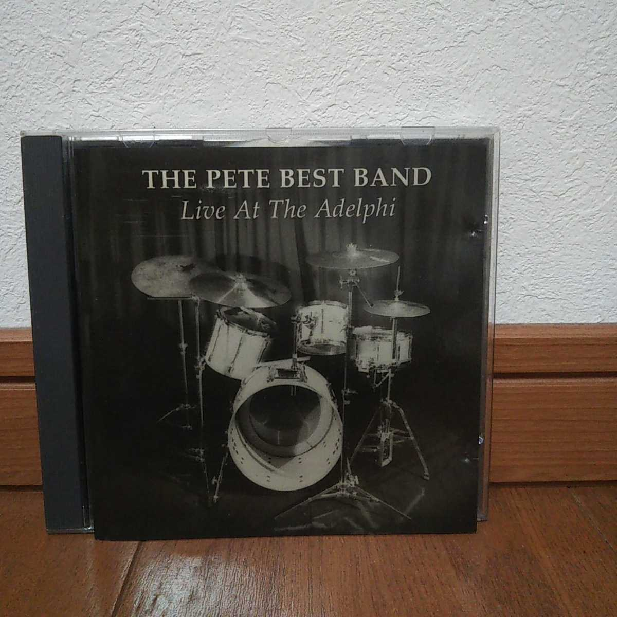 The Pete Best Band 「Live at Adelphi」1992年発売直筆サイン入CDピート・ベスト Beatlesビートルズ