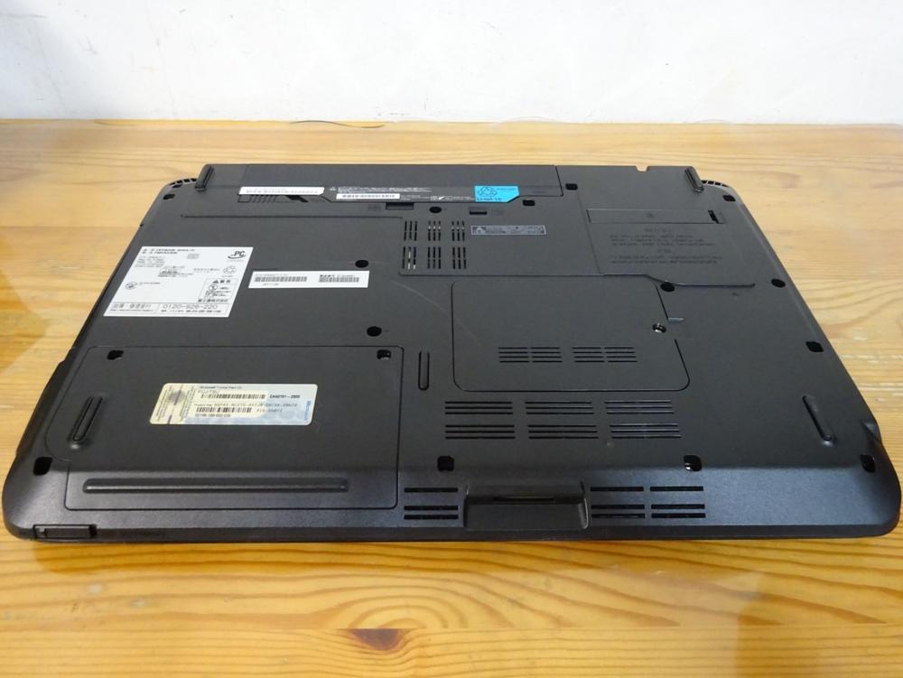 富士通 ノートパソコン LIFEBOOK AH54/D/Core i3 2310M 2.1GHz/4GB/500GB/優良品_画像5