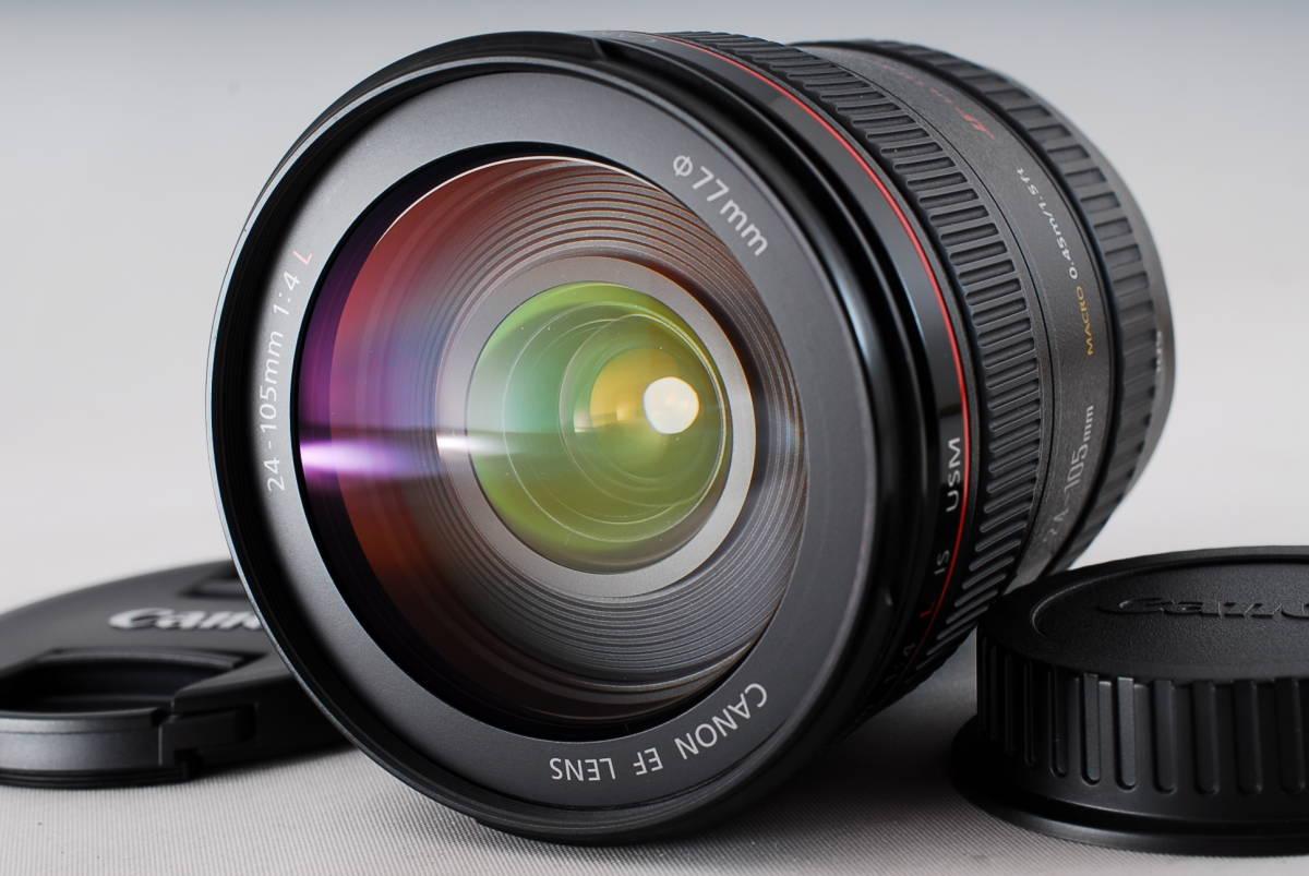 動作保証 Canon EF24-105mm F4L IS USM キャノン #1002-8