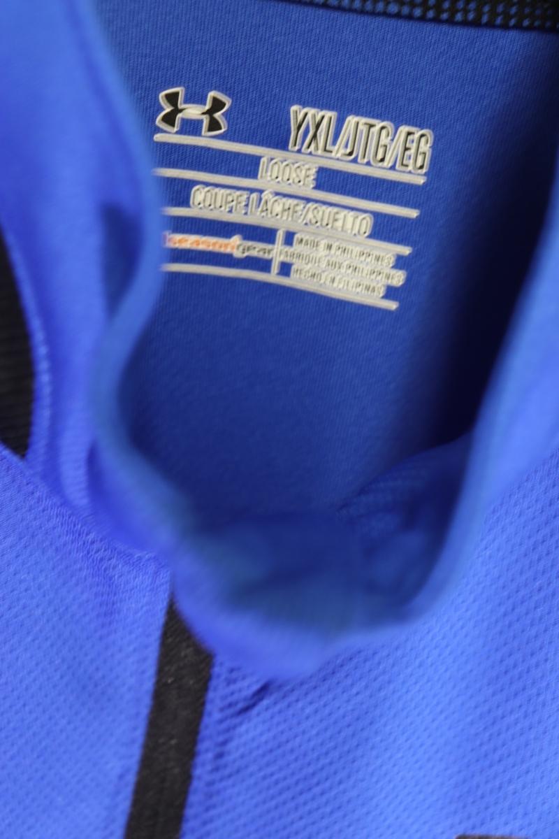 【メンズ】【良品保証返品OK】アンダーアーマーブルーロングスリーブ/新品未使用美品YXL_画像5