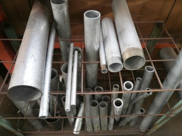 鉄亜鉛メッキ配管用丸鋼管(白SGP) 各形状・(1000~100mm)各定寸長さでの販売F21_画像2