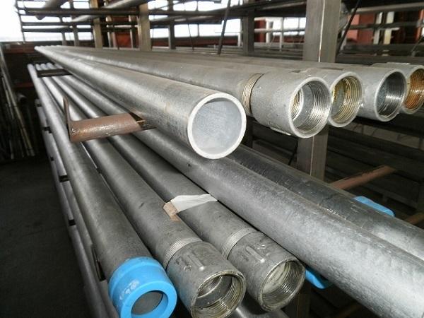 鉄亜鉛メッキ配管用丸鋼管(白SGP) 各形状・(1000~100mm)各定寸長さでの販売F21_画像3