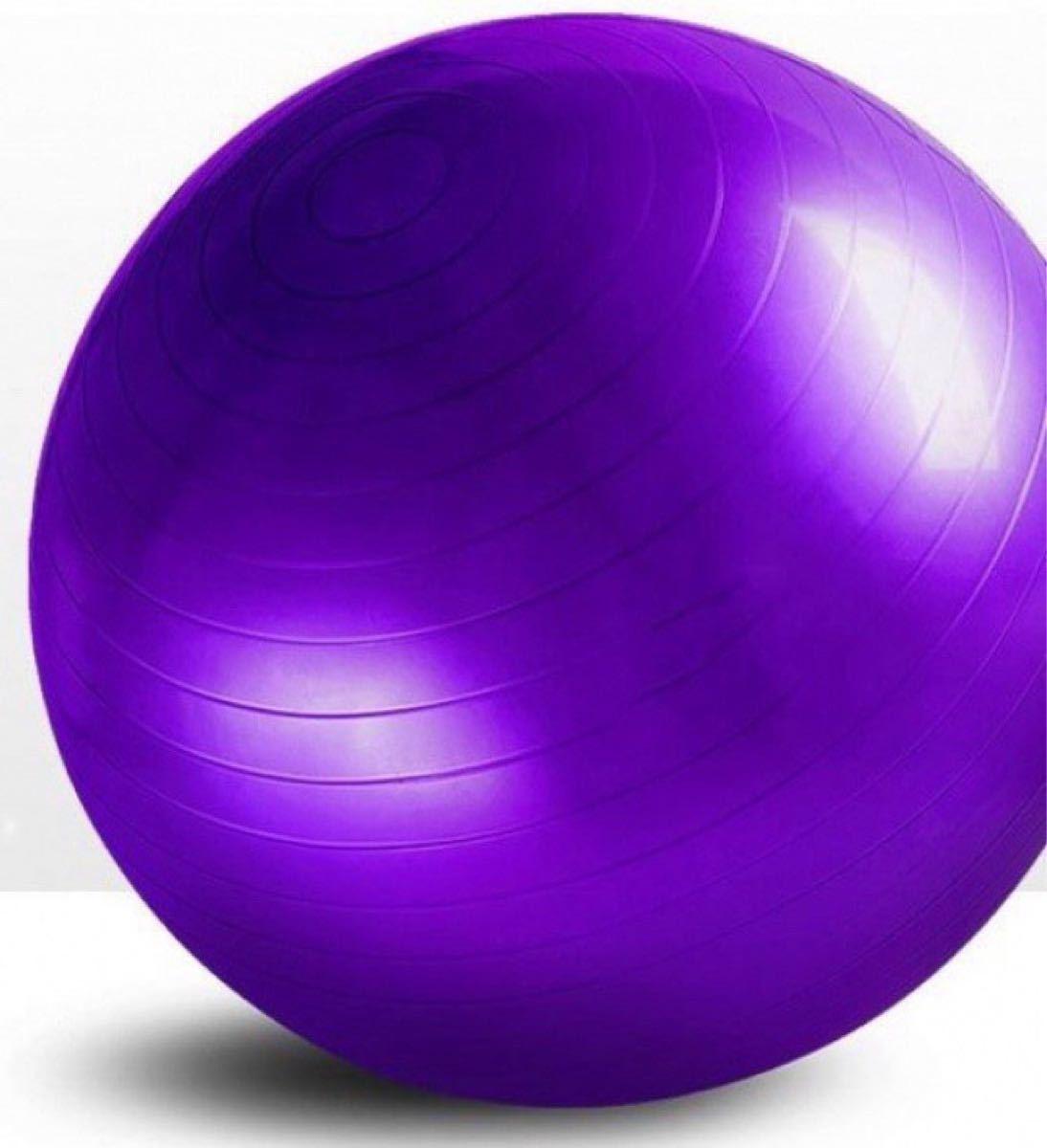 バランスボール 65cm ヨガ 運動 トレーニング エクササイズ フィットネス