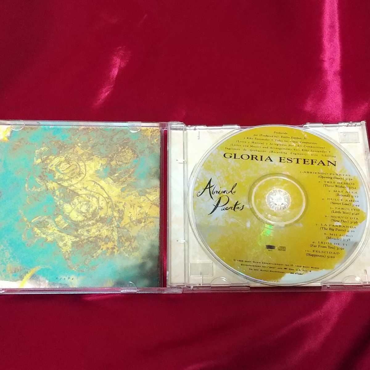 《グロリア・エステファン》ABRIENDO PUERTAS☆中古CD・送料無料