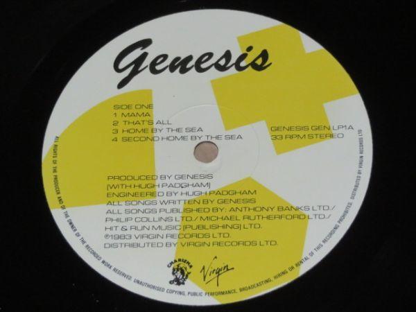 UK盤★ジェネシス(Genesis)★LP_画像4