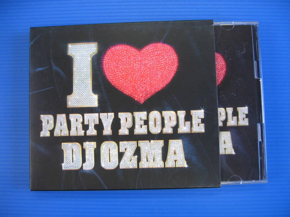 CD★送料無料★I LOVE PARTY PEOPLE (DVD付) DJ OZMA★No2140_画像1