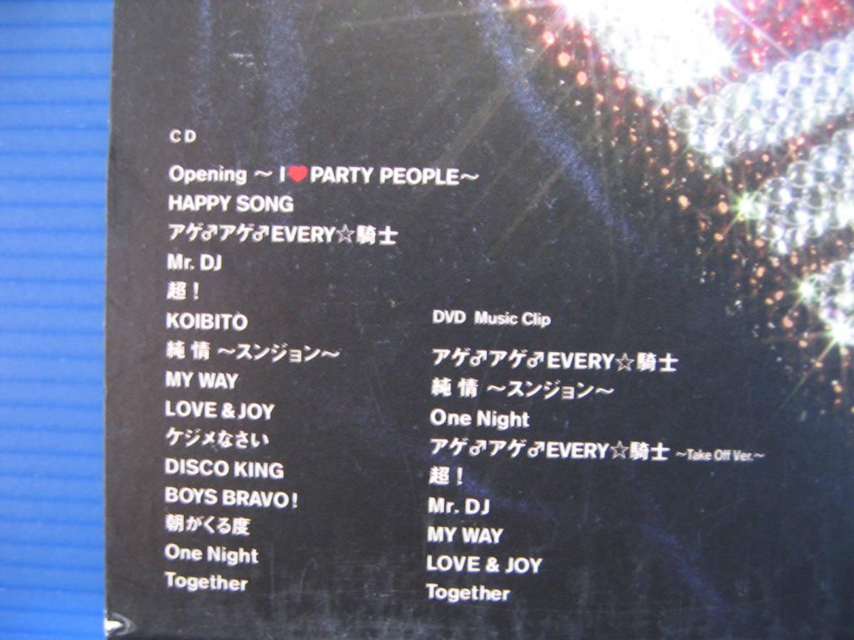 CD★送料無料★I LOVE PARTY PEOPLE (DVD付) DJ OZMA★No2140_画像3