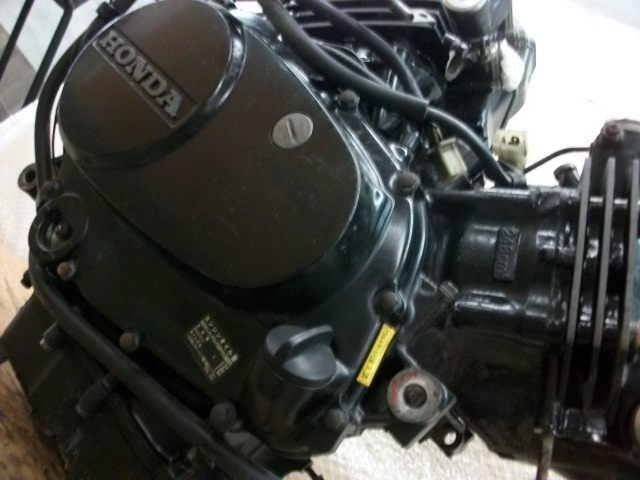 【BST】★ホンダ VT250F MC08 エンジン MC08E 実働 _画像4