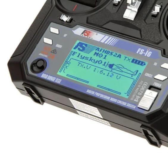 FlySky FS-i6 2.4G FS-iA6B レシーバ付き 6CH AFHDS RCトランスミッタ - モード1(右ハンドスロットル)_画像6